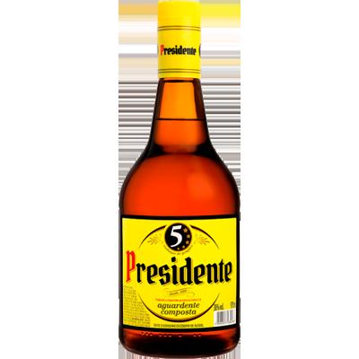 Conhaque  900ml a 1Litro Presidente garrafa UN