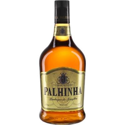 Conhaque ouro 900ml a 1Litro Palhinha garrafa UN