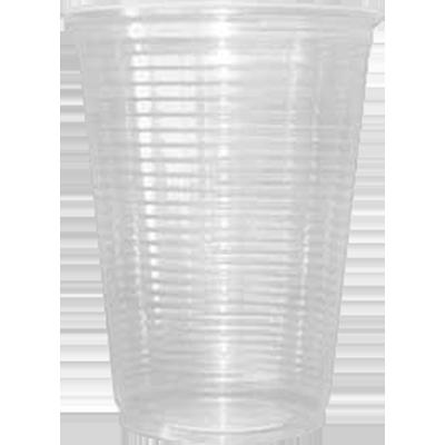 Copo descartável 180ml transparente 100 unidades Coposul pacote PCT
