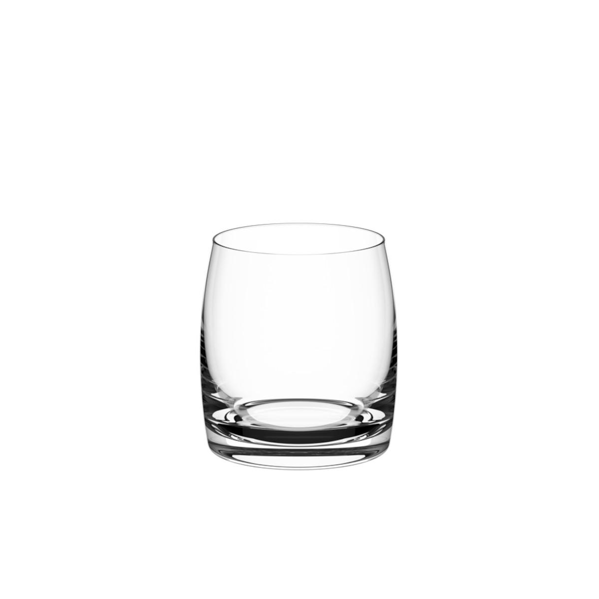 Copo para Whisky  em Cristal Ecológico com Titânio Light 290ml 6 unidades Haus Concept  UN