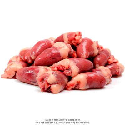 Coração de Frango Resfriado 1Kg Chef Meat pacote PCT
