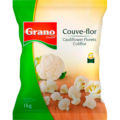 Couve-Flor congelada por kg Grano pacote KG
