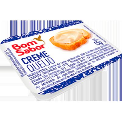 Cream Cheese  unidades de 15g Bom Sabor blisters UN