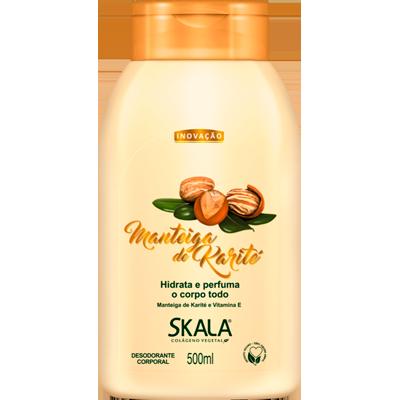 Creme Corporal Loção Hidratante Manteiga Karité 500ml Skala  UN