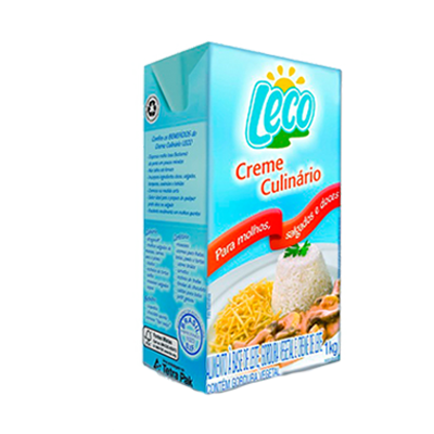 Creme Culinário  1kg Leco tetra pak UN