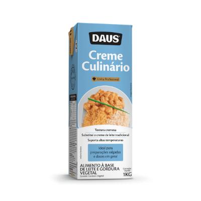 Creme Culinário  1kg Ourolac pacote UN