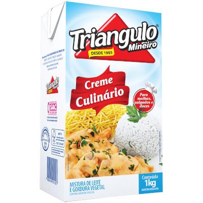 Creme Culinário  1kg Triângulo Mineiro Tetra Pak UN