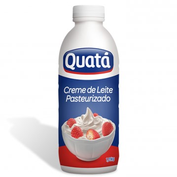 Creme de leite fresco 1,01kg Quatá pet UN