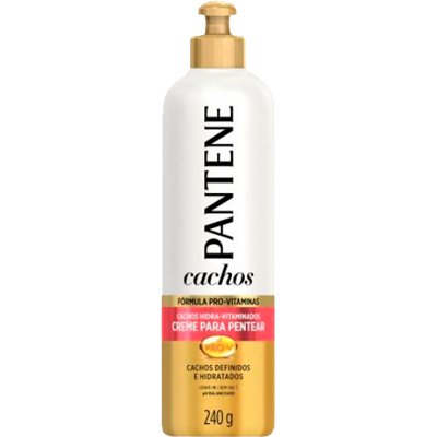 Creme de Pentear cachos cacheados hidra-vitaminados 240g Pantene  UN