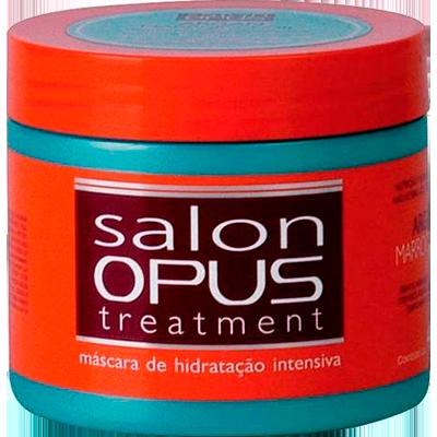 Creme de Tratamento de Cabelos argan 400g Salon Opus pote POTE