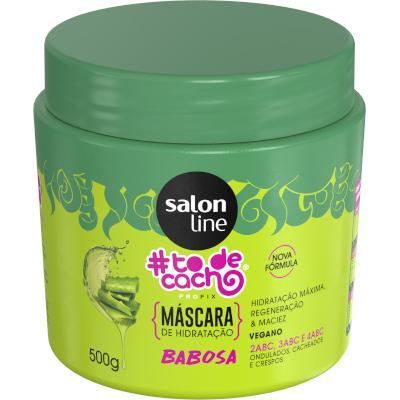 Creme de Tratamento de Cabelos babosa 500g #todecacho/Salon Line pote POTE
