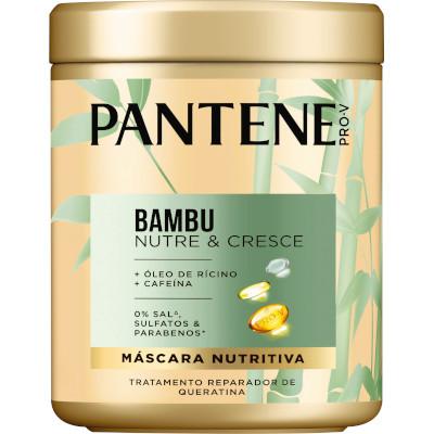 Creme de Tratamento de Cabelos Bambu 600ml Pantene pote POTE