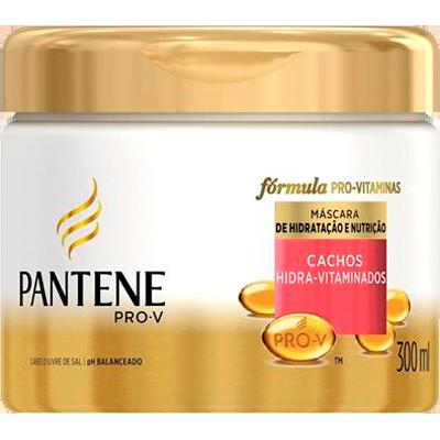 Creme de Tratamento de Cabelos Cachos Hidra-Vitaminados 300ml Pantene pote POTE