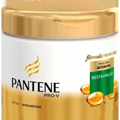 Creme de Tratamento de Cabelos Restauração Profunda 300ml Pantene pote POTE