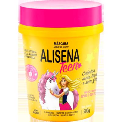 Creme de Tratamento de Cabelos Teen 500g Alisena pote POTE