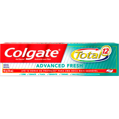 Creme Dental advanced fresh 90g Colgate Total 12  UN