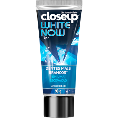Creme Dental branqueador white now 90g Closeup  UN