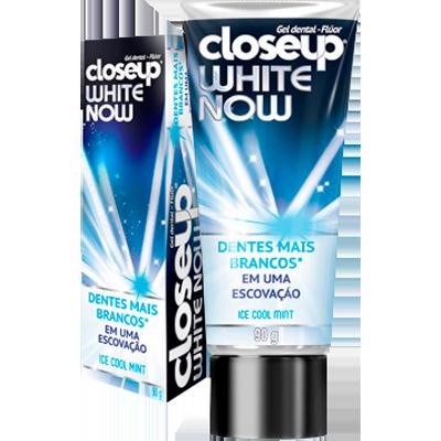 Creme Dental branqueador white now ice cool mint 90g Closeup  UN