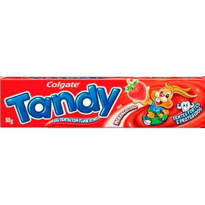 Creme Dental morango 50g Tandy  UN