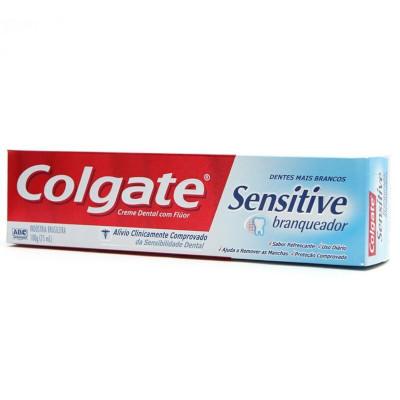 Creme Dental  Sensitive Branqueador 100g Colgate  UN