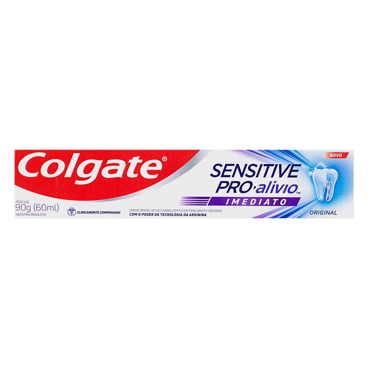 Creme Dental Sensitive Pro-Alívio Imediato 90g Colgate  UN
