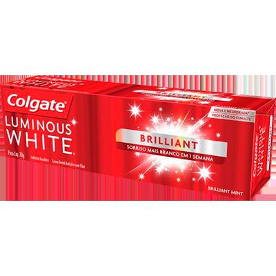 Creme Dental terapêutico brilhante 70g Luminous White Colgate  UN