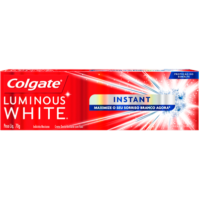 Creme Dental Terapêutico Instant 70g Colgate/Luminous White  UN
