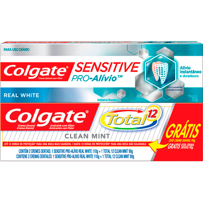Creme Dental terapêutico sensitive pró alívio 110g Colgate  UN