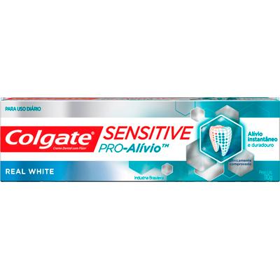 Creme Dental terapêutico sensitive pró alívio branqueador 110g Colgate  UN