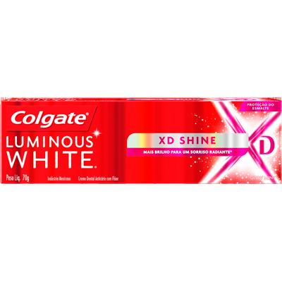 Creme Dental terapêutico XD shine 70g Luminous White Colgate  UN