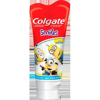 Creme Dental tradicional smiles minions 100g Colgate  UN