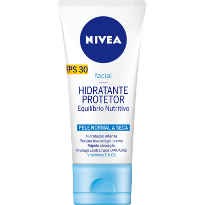 Creme Facial Hidratante Visage Beauty Protector Pele Normal 50g Nivea  UN