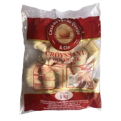 Croissant Chocolate 10 unidades Casa do Pão de Queijo pacote 1,4 kg PCT