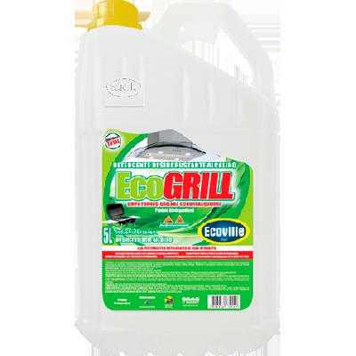 Limpador Desengordurante alcalino limpa chapa, forno e fogão 5Litros Ecoville galão GL