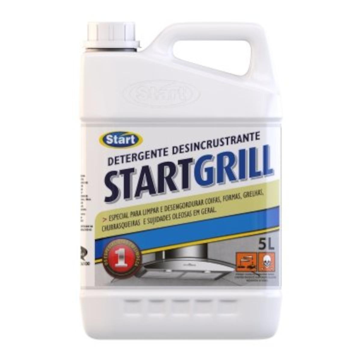 Desincrustante alcalino 5Litros StartGrill galão GL
