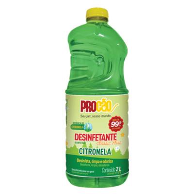 Desinfetante Citronela 2Litros Procão frasco FR