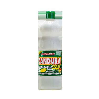 Desinfetante pinho cloro ativo 1Litro Candura frasco FR