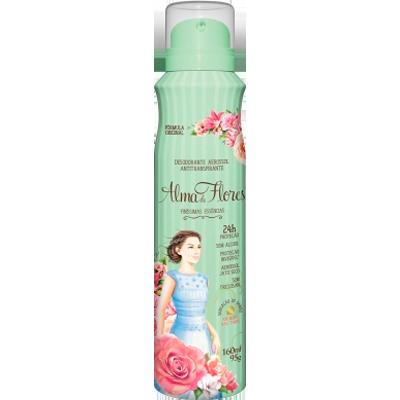 Desodorante Aerossol Clássico 160ml Alma de Flores  UN