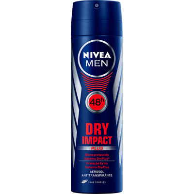 Desodorante aerosol dry impact 150ml Nivea Men  UN