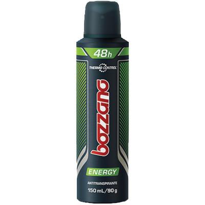 Desodorante aerosol energy 150ml Bozzano  UN