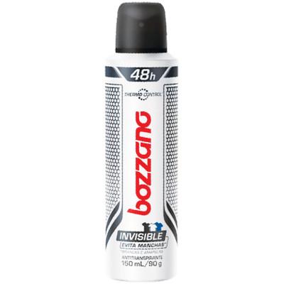Desodorante aerosol invisible 150ml Bozzano  UN