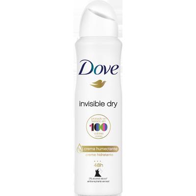 Desodorante Aerossol invisible 150ml Dove  UN