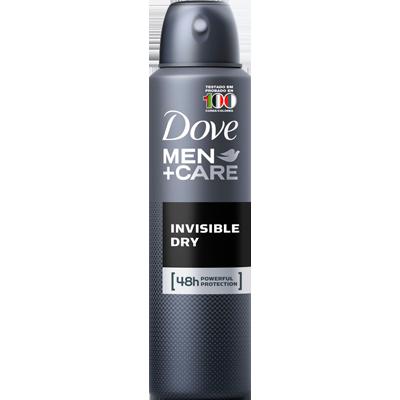 Desodorante aerosol invisible dry 150ml Dove Men  UN