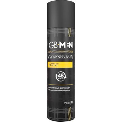Desodorante Aerossol Active 150ml Giovanna Baby Men  UN