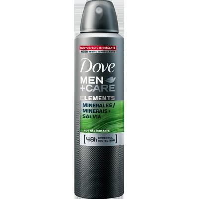 Desodorante aerosol minerals+salvia masculino 150ml Dove Men  UN