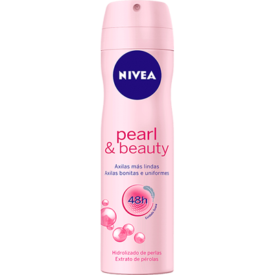 Desodorante aerosol pearl beauty 150ml Nivea  UN