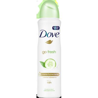 Desodorante aerosol pepino e chá verde 150ml Dove  UN