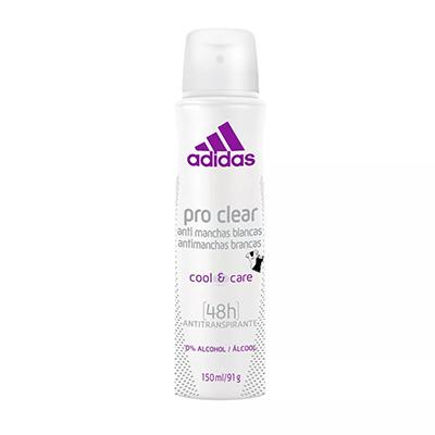 Desodorante Aerossol pro clear 150ml Adidas  UN