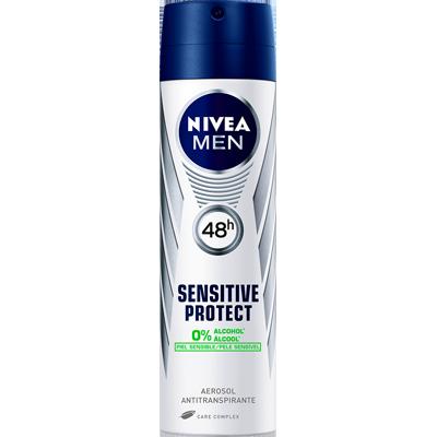 Desodorante aerosol sensitive protect 150ml Nivea Men  UN