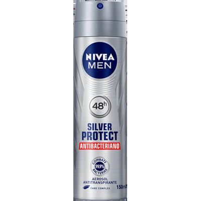 Desodorante aerosol silver protect 150ml Nivea Men  UN
